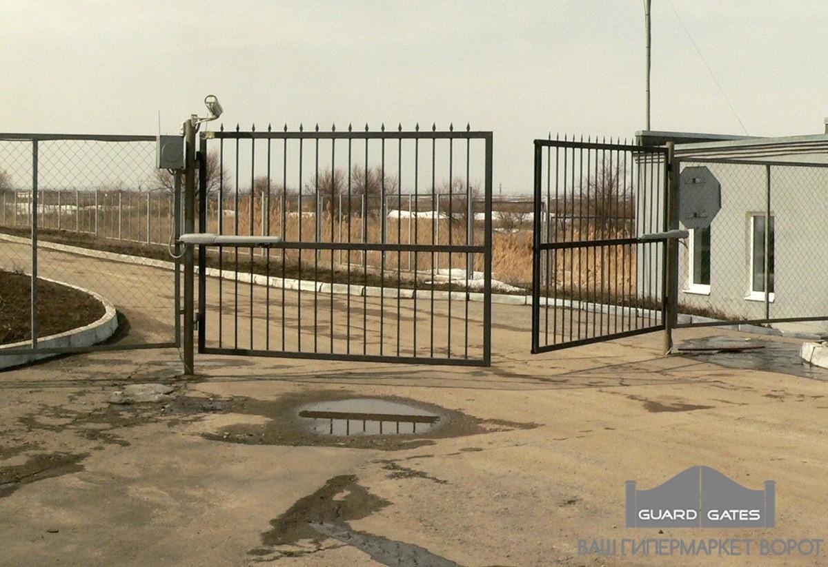 Распашные ворота в Саратове